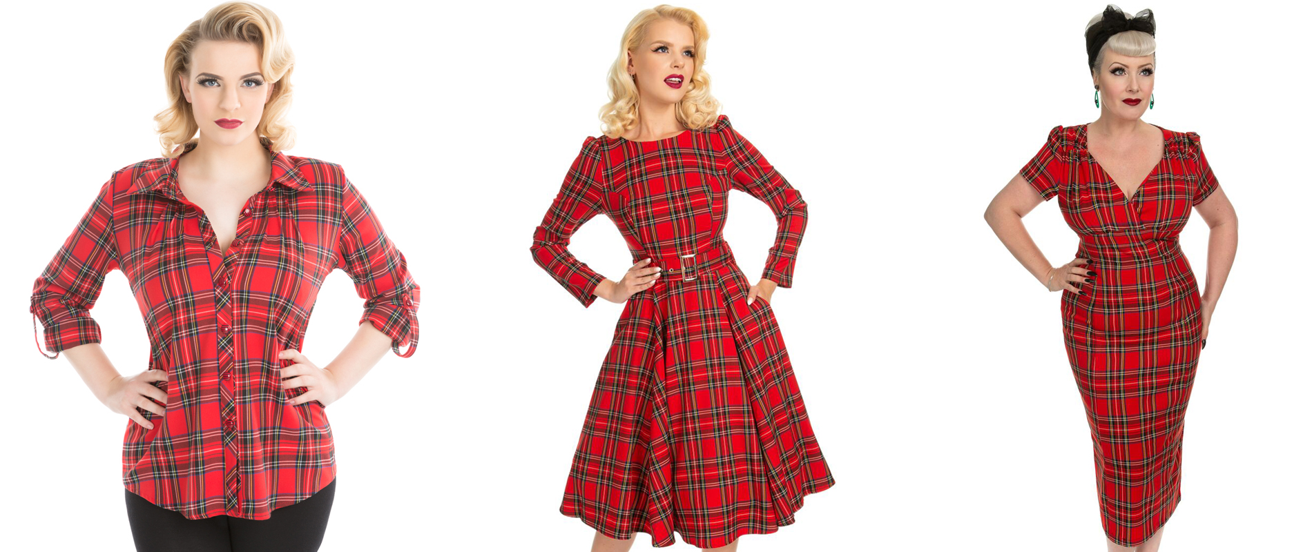 Tartan Dresses and top