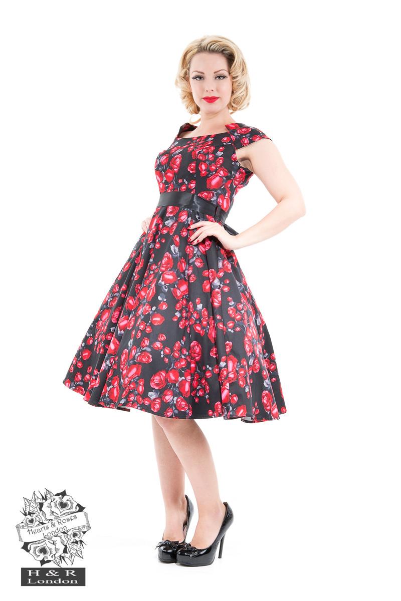 58efc22742e Swing Dresses - Hearts   Roses London