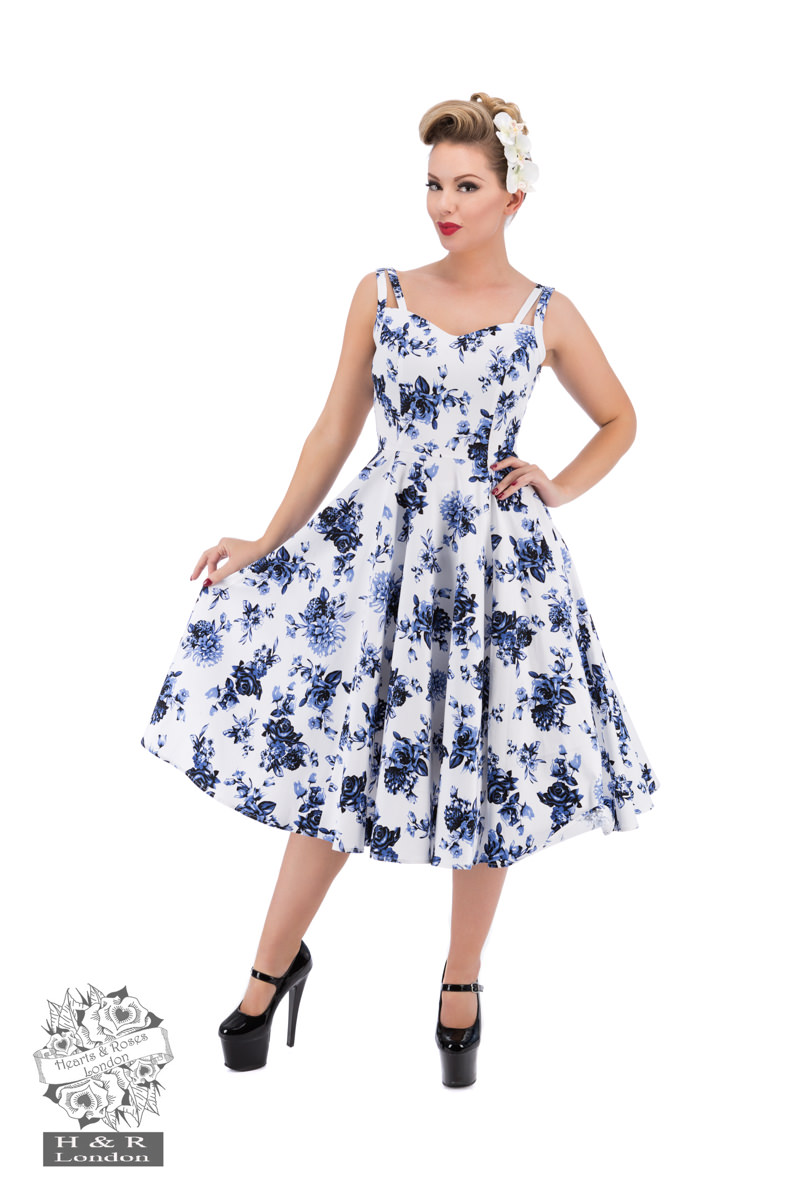 amp; Roses Dresses London Swing Hearts xY6OqaaTw